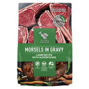 Buy Branded Billy & Margot Adult Morsels in gravy Lamb with Superfood|