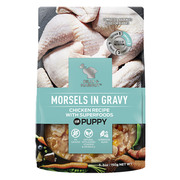 Buy Branded Billy & Margot Puppy Morsels in gravy Chicken with Superfo