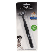 Buy Branded Petosan Double Sided Toothbrush for Dogs| VetSupply | Onli