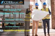 CDR Report For Engineers Australia By CDRReport.Net