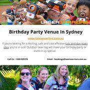 Birthday Party Venue In Sydney - www.laserwarriors.com.au