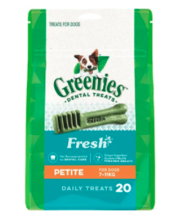 Buy Greenies Fresh Petite for Dogs| Dog Food|Online at Best Price