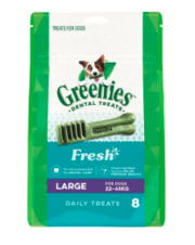 Buy Greenies Fresh Large for Dogs| Dog Food|Online at Best Price