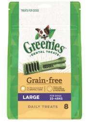 Buy Greenies Grain Free Large Dog Dental Treat 22-45 kg| Dog Food