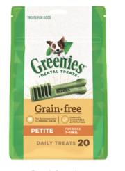 Buy Greenies Grain Free Petite Dog Dental Treat 7-11 kg| Dog Food