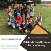 Celebrate Kids Birthday Party in Sydney - Laser Warriors