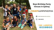 Boys Birthday Party Venues in Sydney - Laser Warriors