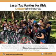 Laser Tag Parties for Kids