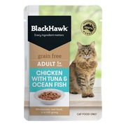 Buy Blackhawk Grain Free Cat Chicken with Tuna & Ocean Fish