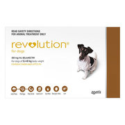 Buy Revolution For Small Dogs Brown Pack | Heartwormers