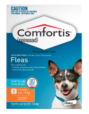 Buy Comfortis for  Small Dogs Orange Pack at Lowest Price | Pet Supply