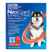 Buy Nexgard Spectra Extra Large Dogs Red Pack|Flea and Tick Treatment|