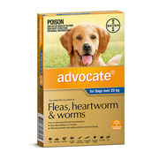Buy Advocate For Extra Large Dogs Over 25Kg 6 Pack Blue