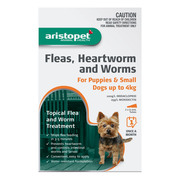 Aristopet Flea & Worm Treatment For Dogs and Puppies   DiscountPetCare