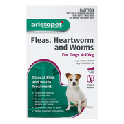 Buy Aristopet Spot-On Treatment For Dogs 4-10Kg Purple
