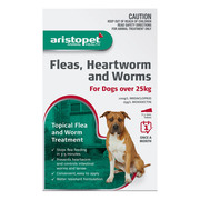 Buy Aristopet Spot-On Treatment For Dogs Over 25Kg Red