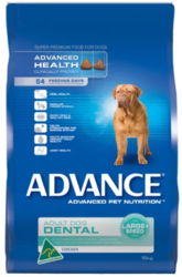 Buy ADVANCE ADULT DOG LARGE+ BREED DENTAL 13KG Online -VetSupply