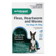 Buy Aristopet Spot-On Treatment For Dogs 10-25Kg Blue