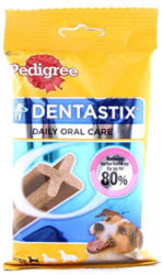 Buy Pedigree Dentastix Daily Dental Small Dog Treats Online -VetSupply