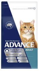 Buy ADVANCE Triple Action Dental Care Dry Cat Food Chicken With Rice