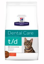 Hill's Prescription Diet T/D Dental Care Dry Cat Food   Dental Product