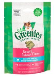 Buy Greenies Feline Dental Treats Salmon Flavour for Cats 60g  Dental