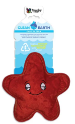 Buy Spunky Pup Clean Earth Recyclable Starfish Toy for Dogs