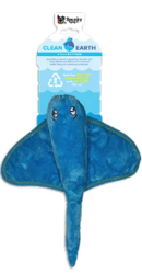 Buy Spunky Pup Clean Earth Recyclable Stingray Toy for Dogs