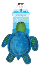Buy Spunky Pup Clean Earth Recyclable Turtle Toy for Dogs