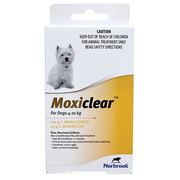 Buy Moxiclear for Medium Dogs 10-25kg Teal Pack |Flea and Tick