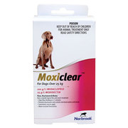 Buy Moxiclear for Large Dogs over 25kg Pink Pack |Flea and Tick