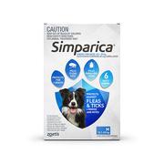 Buy Simparica Chewables for Medium Dogs 10.1 - 20kg Blue Pack