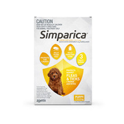 Buy Simparica Chewables for Puppies 1.3-2.5kg Yellow Pack
