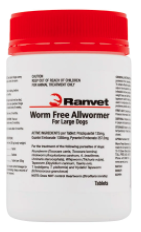 Buy Ranvet Allwormer for Large Dogs |Pets Worm treatment | VetSupply