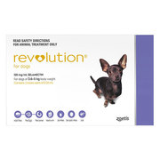 Buy Revolution for Very Small Dogs 2.6 to 5 kg Purple Pack|Pets Worm