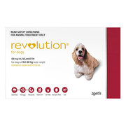 Buy Revolution for Medium Dogs 10.1 to 20kg Red Pack|Pets Worm
