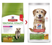 Hill's Adult 7+ Youthful Vitality Small & Mini Chicken & Rice Dry