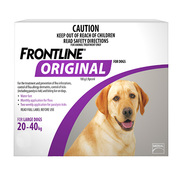 Frontline Original For Large Dogs 20-40 Kg Purple | DiscountPetCare