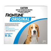 Frontline Original For Medium Dogs 10-20 Kg Blue| DiscountPetCare
