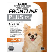 Buy Frontline Plus For Small Dogs Orange Online | DiscountPetCare