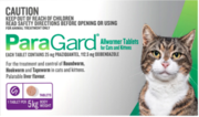 Buy Paragard for Cats up to 5kg |Pet Worm treatment | VetSupply