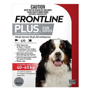 Buy Frontline Plus For Extra Large Dogs Red Online | DiscountPetCare