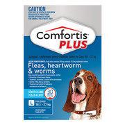 Buy Comfortis Plus Chewables for Large Dogs 18.1 to 27kg Blue Pack