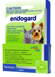 Buy Endogard Wormers for Dogs and Puppies 5kg Green Pack |Pet