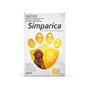 Buy Simparica Chewables For Puppies 1.3-2.5 Kg Yellow