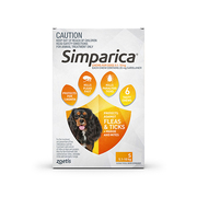 Buy Simparica Chewables For Small Dogs 5.1-10 Kg Orange