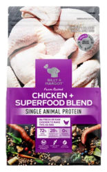 Buy Billy & Margot Dog Adult Chicken and Superfood Online-VetSupply