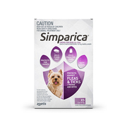 Buy Simparica Chewables For Very Small Dogs 2.5-5 Kg Purple