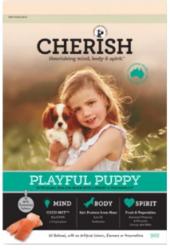 Buy Cherish Playful Puppy Salmon And Chicken Dry Dog Food Online