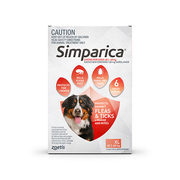 Buy Simparica Chewables For Extra Large Dogs 40.1 - 60 Kg Red